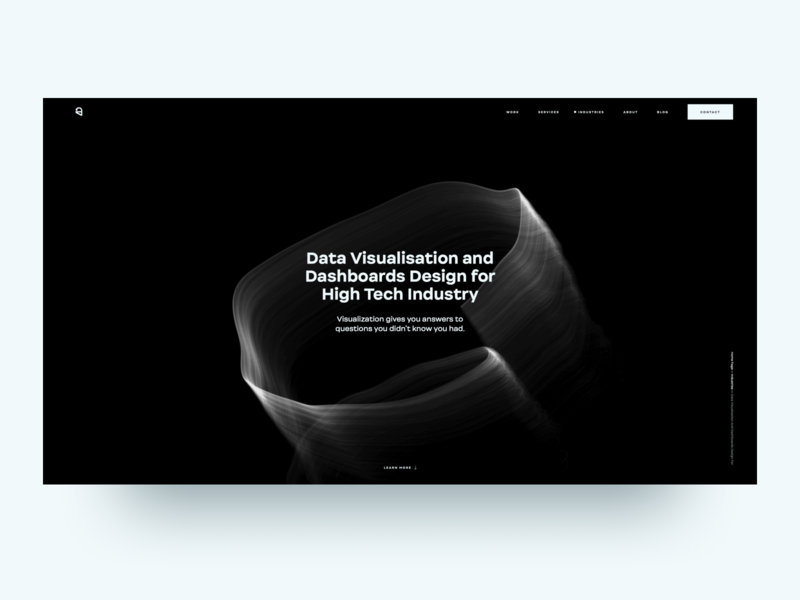 Ester Digital Website development dark ui typography graphic design ux ui