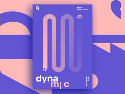 Ester - Dynamic. Brand Attribute Poster
