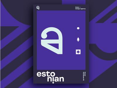 Ester - Estonian. Brand Attribute Poster