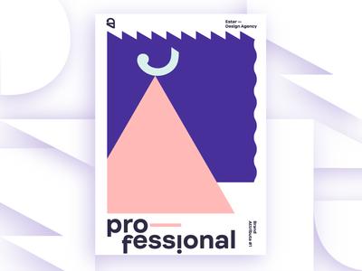 Ester - Professional. Brand Attribute Poster
