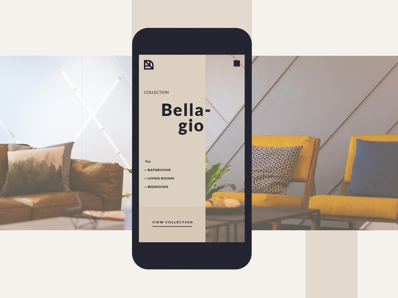 Tessellate E-Commerce UI mobile responsive typogaphy ux ui design