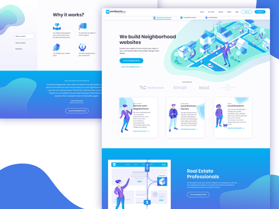 Parkbench Website Design