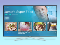 Smart TV App for cooking