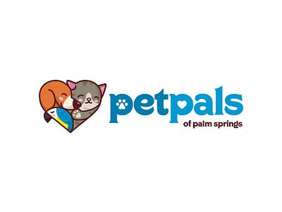 Pet Sitting/Walking Service illustration logo