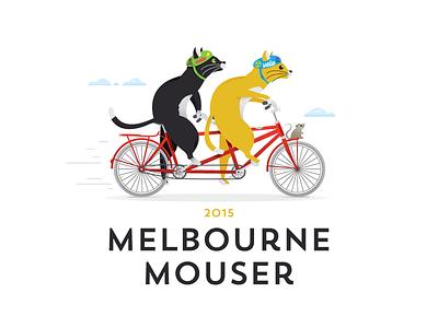 Melbourne Mouser tandem bike bikes cat mouse race