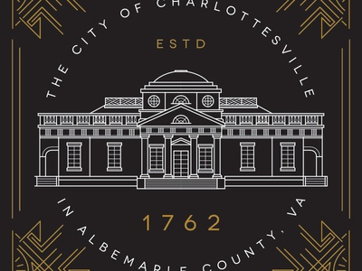 Charlottesville: Monticello tried and true monticello charlottesville virginia never stop learning lines line art line illustration 1762