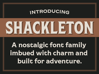 Introducing Shackleton