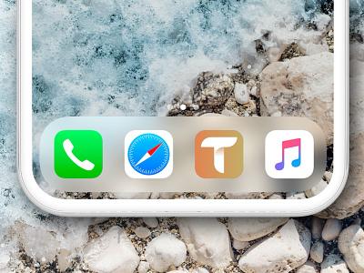 Travel App Logo lettermark clean bird travel geometric icon logo branding vector mobile app app mobile design