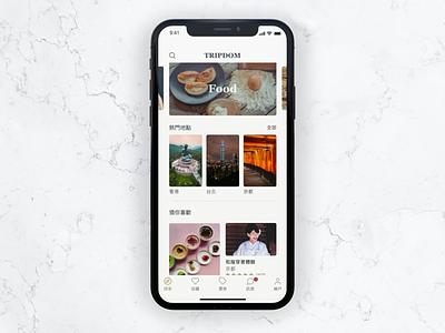 Travel App Design clean ui travel app travel mobile app app mobile ui ux design