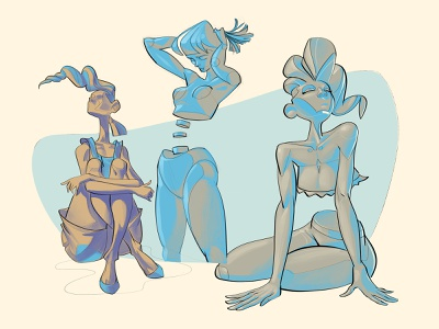 Female Anatomy minimalism essential lineart art volumes study elegant lines characterdesign illustration ink streamlines cool shadows bodye body girls female anatomy