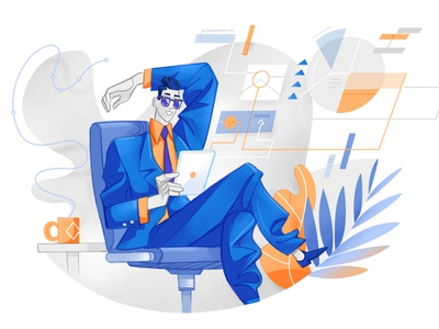 Trading Comfort investments tablet app analytics chart hurca cool wow illustration comfort user experience user interface interface sales business market finance online trading trading analyst analysis