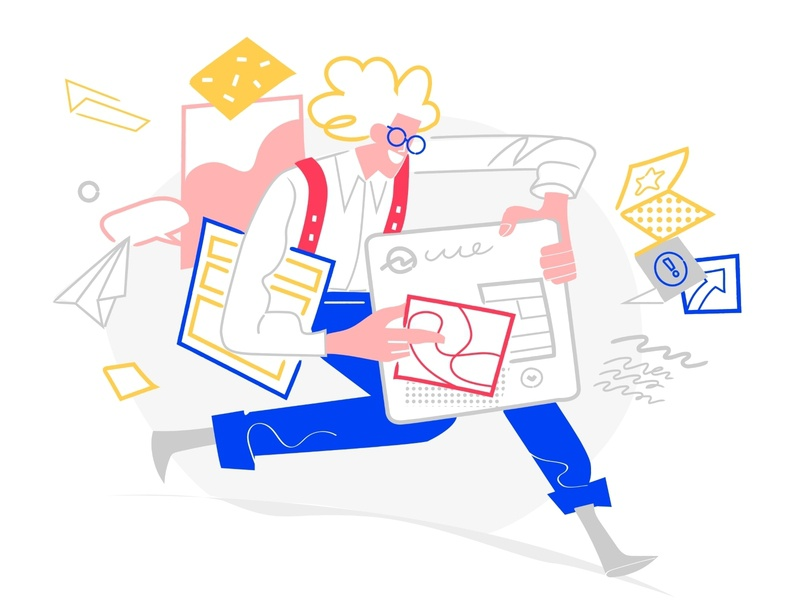 Creative Designer monello illustration visual design art director creativity layout graphics invention idea delivery urgency chaos project user interface designer web designer creative director creative
