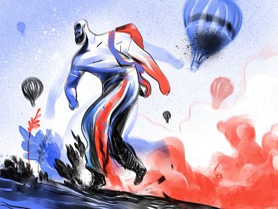 Finding the Way procreate art illustration curiosity