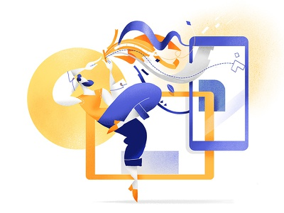Design Dance guru creative mobile app design interface ux