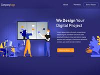 Digital Startup | Landing Page