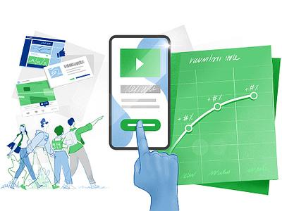 Social Network Analyitics hurca ux mobile app millenials big data marketing social network