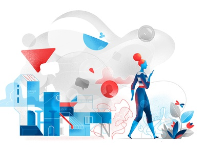 Freestyle Life hurca experience wow imagination abstract graphics millenials girl lifestyle life digital flow connected devices art creative