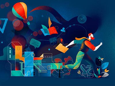 Mindfullness hurca wow inspiration running ideas imagination creativity