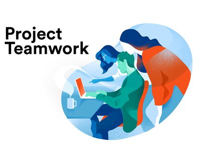 Project Teamwork hurca sharing ideas colaboration brainstorming teamwork team