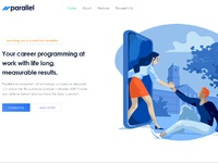 Parallel homepage
