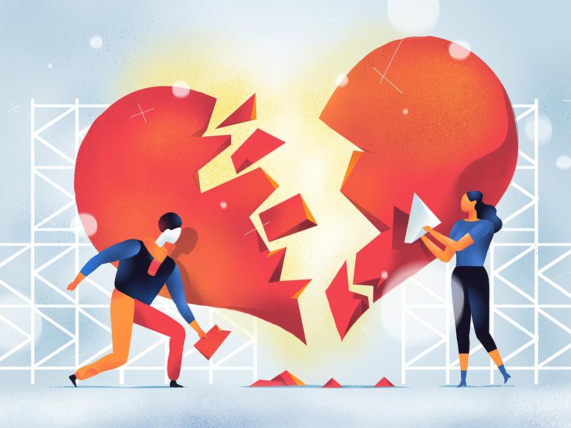 Love Affair by Hurca™ on Dribbble
