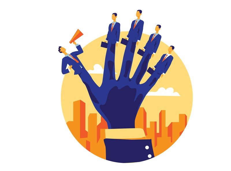 Salesforce School hurca group hand team director teamwork business man business salesforce
