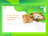 simplyhomefood website redesign