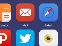 iOS 7 - Custom Icon Pack