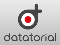 Datatorial logo design