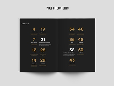 Raab Catalog - Table of Contents