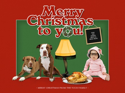 2017's Yucis Family Christmas Card