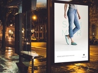 Mahabis Summer Slipper - ad campaign (OOH)