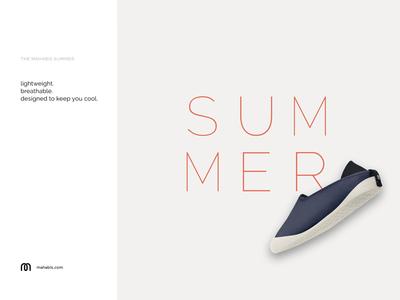 Mahabis Summer Slipper - ad campaign