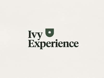 Ivy Experience - branding concept