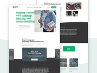 Ivy Experience Site Redesign