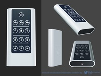 Infra-Red Remote Control Product Render