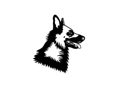 German Shepherd Dribbble