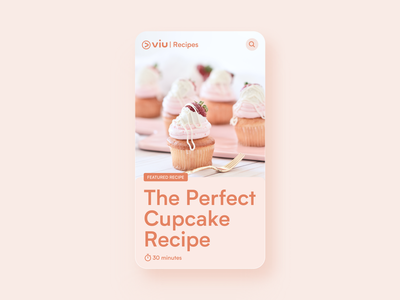 Recipe Card ui card figma recipe app recipe
