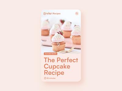 Recipe Card ui card figma recipe app recipe