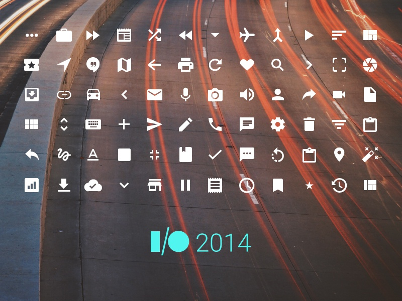 Google Icons 2014 io14 google android icons icon set vector sketch 3