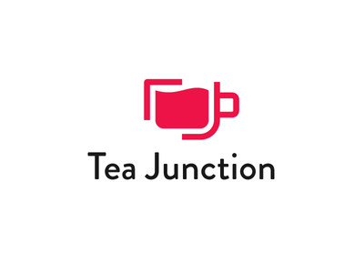 Logomark - TeaJunction apps meteor sokratus junction tea logo