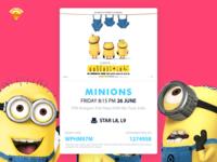 Movie Card - Minions!