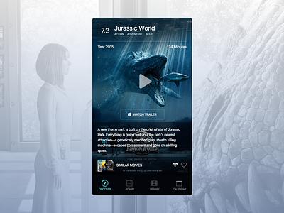 Movie app ui movies imdb sketch free download app movie