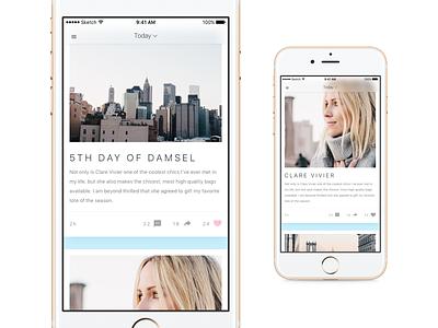 Photo app concept concept photo app ui