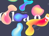 Branding Direction color vector exploration branding gradients