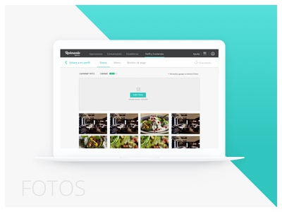 Restorando Content score restaurant score dashboard content ui ux - gamification