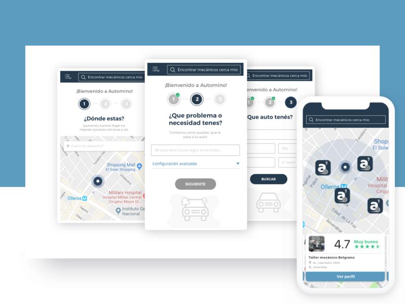 Car Services App - concept