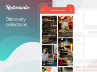Discovery Collections Restorando ios app restaurants collections discovery