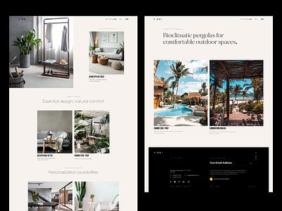 industrial® — layout minimal grid ux ui industrial whitespace typography layout clean designminimal website