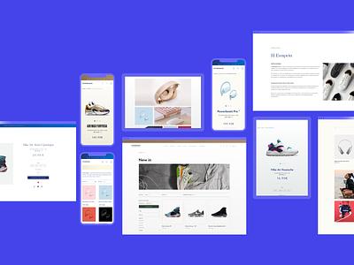 Ecommerce — Magento 2™ Theme ux ui vision minimal typography magento ecommerce shop shoes grid clena layout responsive web design web whitespace